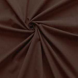 SALE 45″ Broadcloth Fabric Brown, by the yard
