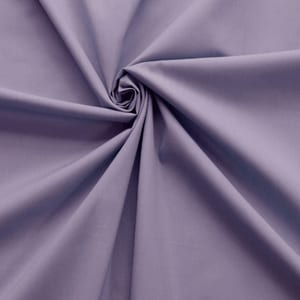 SALE 45″ Broadcloth Fabric Lilac, by the yard