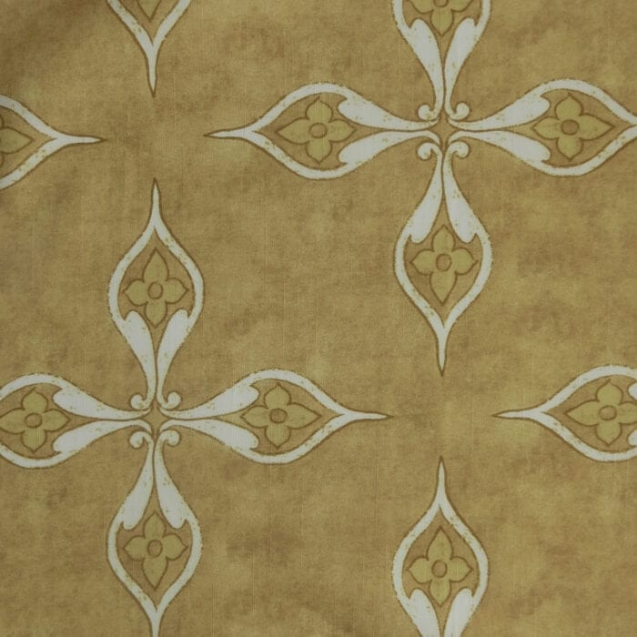 SALE Printed Decorating Twill Fabric 993 Gold, by the yard