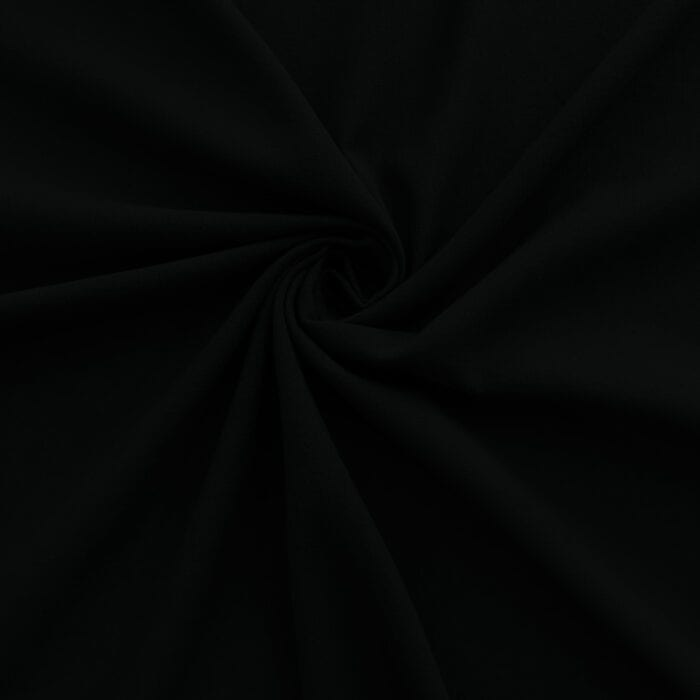 100% Cotton Gauze Fabric Black, by the yard