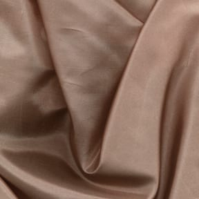 SALE China Silk Fabric Taupe, by the yard