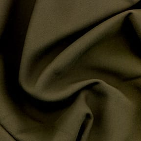SALE Poplin Fabric Olive, by the yard