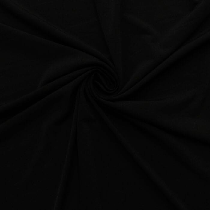 3 Yards Stretch Jersey XS105 Black