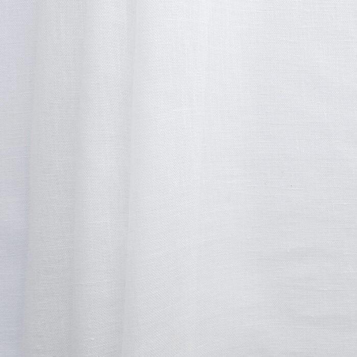 European 100% Linen 57″ Scrim Fabric White, by the yard