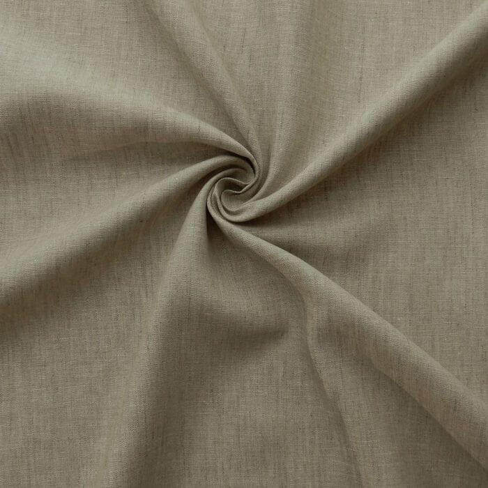 Wholesale Irish 100% Linen Fabric 57″ Isle Oats 50 yard roll