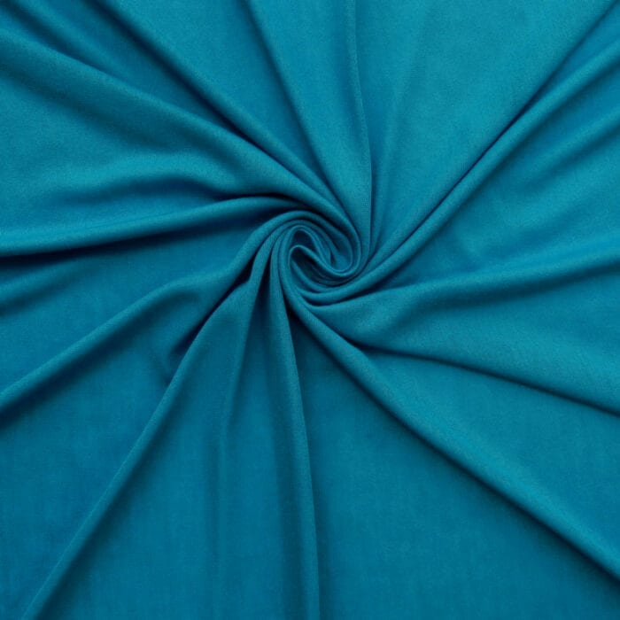 SALE Stretch Rayon Jersey 2545 Turquoise, by the yard
