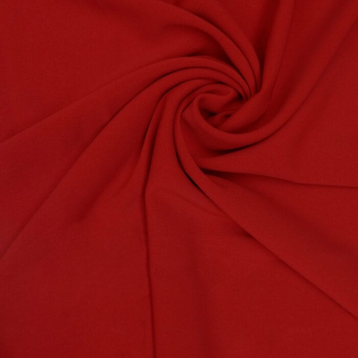 3.625 Yards Elie Tahari Fabric Stretch Suiting Red 1110