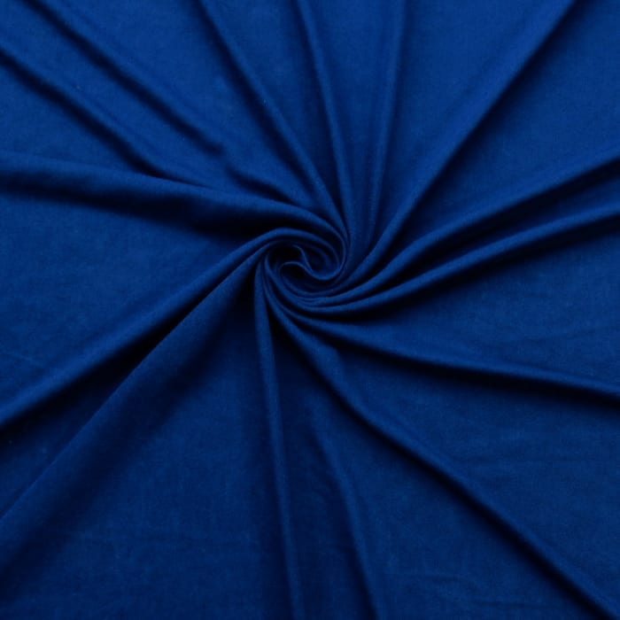 SALE Stretch Jersey Fabric 2617 Sapphire, by the yard